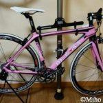 DE ROSA(デローザ) R838 Black Pinkに痛くないサドル♪