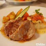 福山市松永『洋食ルグラン』deステーキ&白身魚のランチ♪
