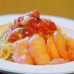 ナカイの窓で話題☆桃のスパゲッティーニのレシピ