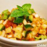ミホお気に入りインド料理☆スパイシーサラダ「カチュンバー」