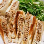 ミホお気に入り☆「パン粉さくさくツナサンド」の糖質制限ダイエット版