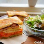 尾道海岸通りにニューオープン『フルール』de新鮮野菜のサンドイッチ♪