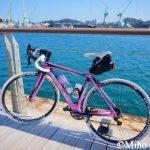 しまなみ海道サイクリング向島一周~U2ティータイム約25km