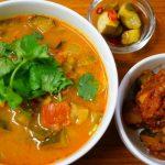 小鯛アラdeミーシャンズファームトマトと夏野菜たっぷりスパイシーカリーのレシピ