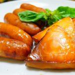 【超簡単】フライパンdeさくらチップ薫る燻製、いぶりがっこ風タクアンや枝豆など♪