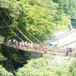 日本三大奇橋・四国の秘境「祖谷のかずら橋」を渡ってきました