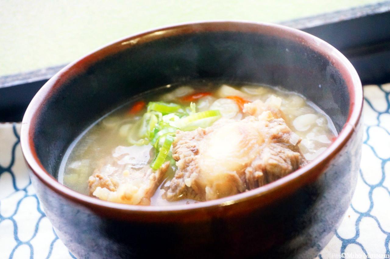 テール スープ の 作り方