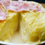 迫力満点☆ネットで話題の『炊飯器でキャベツまるごとスープ』作ってみました♪