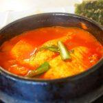 福山市松永『韓国風創作料理とんちゃんや』deスンドゥブ(純豆腐)チゲランチセット♪