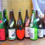 尾道海岸通り『でべらーマンの日本酒Bar Vol.1』de「酒うらら」さんの出張日本酒祭開催♪