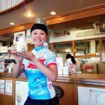 楽天ジェラート部門、不動のNo.1☆尾道瀬戸田『ドルチェ』オリジナル・サイクルジャージ販売開始!