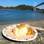しまなみカレー ルリヲン登場!因島大橋記念公園de「シマピク」こと因島ピクニック♪