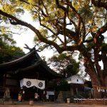 尾道市長江『艮神社』、映画尾道三部作・かみちゅ!・パワースポット、訪れる人が絶えない神社です。