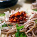 本当に箸が止まらない!!『西原理恵子と枝元なほみのおかん飯』の「塩蕎麦」作ってみました♪