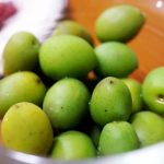 年に一度の季節限定品『井上誠耕園』kara「小豆島産オリーブ新漬け」おとりよせ♪