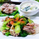 尾道ミーシャンズファーム産「ミニチンゲン菜」de和・洋・中のお料理を楽しむ♪