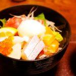 尾道市東御所町『和房まん作』de海鮮丼&天ぷら!でべらーマンとらんらんランチ