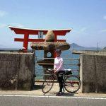 尾道市向島町歌~浦崎町・境ガ浜サイクリング♪水陸両用機試験運転に遭遇!