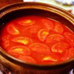尾道鍋研究会☆2016年7月例会「真赤激トマト鍋」 ミーシャンズファームの完熟トマト&希少ミニトマト!