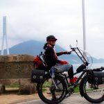 ファットバイク大改造!「アメリカンなドム」と一緒に、向島~大三島70kmサイクリング♪