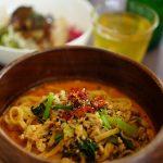 福山市水呑町『水呑Cafe Boneu(ボヌー)』de、新作「鞆SOBA RED 海老クリームスープ」の濃厚な旨みに大感激!