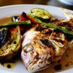 福山市内海町『ZONO kitchen/魚ときどき肉』de天然鯛のカルパッチョと炭火焼ランチに大満足♪