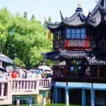 【2016上海-6】上海市『豫園』!華麗な中国建築と、中国茶や雑貨ショッピングを楽しむ♪