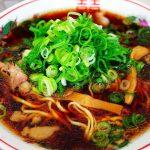 尾道市土堂『尾道ラーメン丸ぼし』!小鯛・小魚出汁がきいた醤油スープ&オリジナル平打ち麺♪