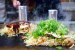 尾道市因島土生町『お好み焼き 新天地』de新鮮魚介類たっぷり、ふっわふわ「いんおこ」を堪能♪