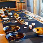 『魅力の手わざ ~絣と器~』カスリラ(備後絣)と吉野瞬クンの陶器に魅せられる展示会@福山市「ここちComfort Gallery器」
