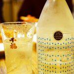 広島生まれの発泡清酒、千福の発泡日本酒「TEPPAN(てっぱん)」を尾道市『中華食堂 一楽』の餃子とともに♪