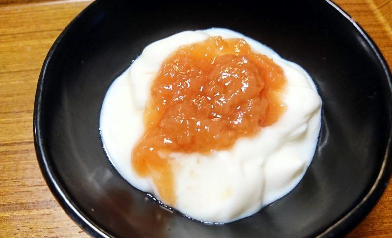 尾道産の完熟白桃『桃のジャム』のレシピ。ヨーグルトやチーズと相性抜群です♪