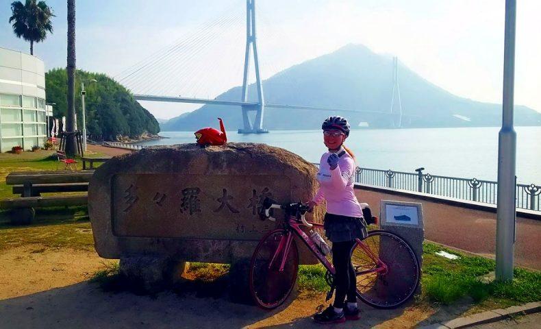 しまなみ海道 向島~大三島往復 早朝サイクリング73km!リハビリライド3回目