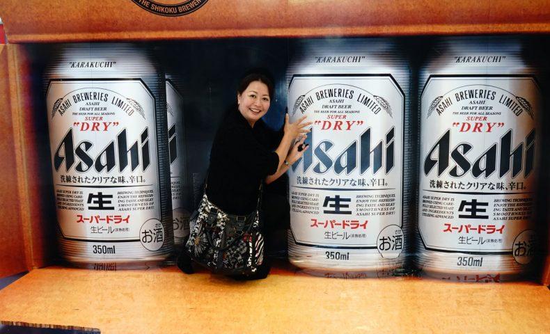 愛媛県西条市『アサヒビール園 伊予西条店』、できたてビールと伊予麦酒牛の鉄板焼きを堪能!