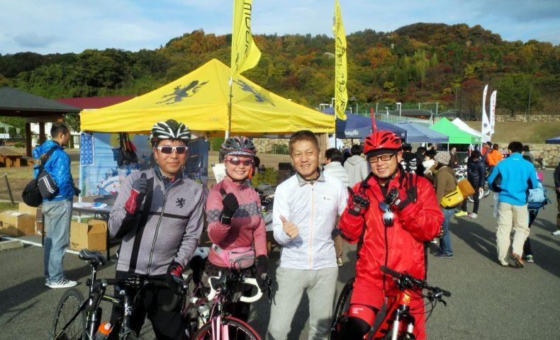 大好きな『カペルミュール』がご出店!瀬戸内しまなみ・ゆめしま海道サイクリング大会2017