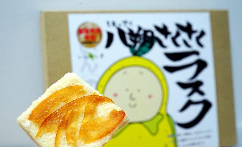 しまなみ海道 尾道市因島のお土産に、はっさくんの「八朔さくさくラスク」♪はっさくん缶バッジも!