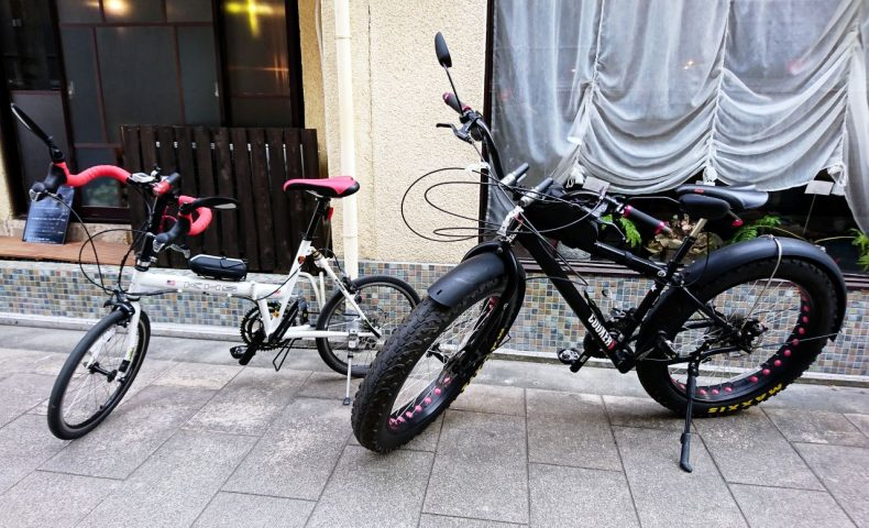 尾道市向島~市街地17kmサイクリング。『キツネ雨』のプルふわフレンチトースト、『まち喫茶店』の珈琲♪