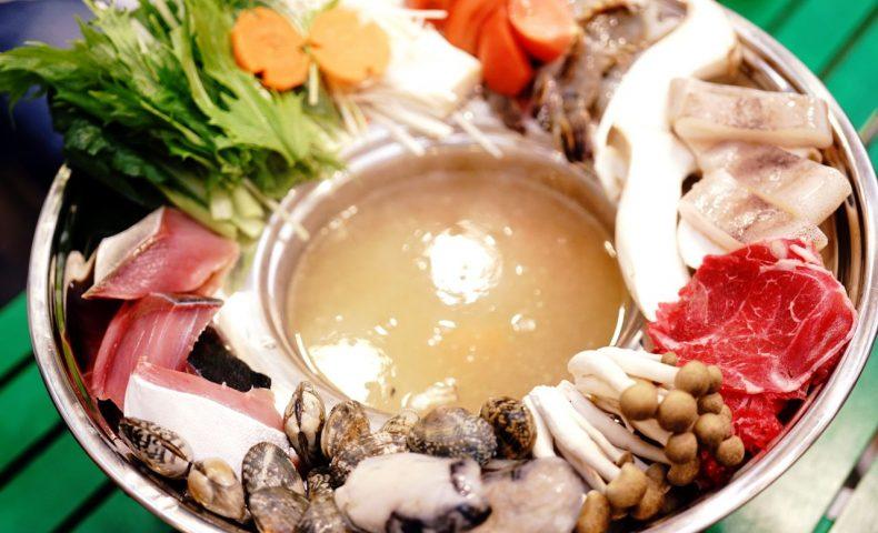 尾道鍋研究会☆2018年4月例会「ベトナム鍋」、海鮮たっぷりな白湯スープの鍋が衝撃の美味しさ!@ホアンイエン