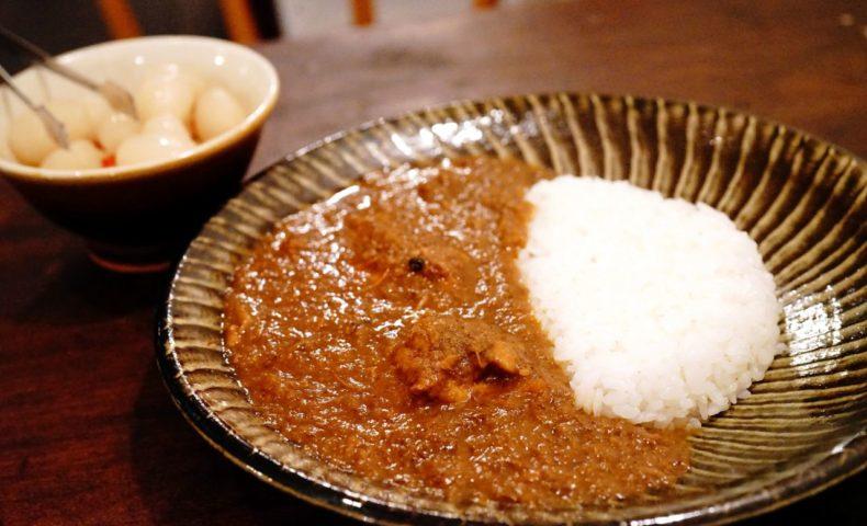 尾道市土堂の新カレー店『荒神堂専門店』、22種のスパイスを使った味わい深いインドチキンカレーにハマる♪