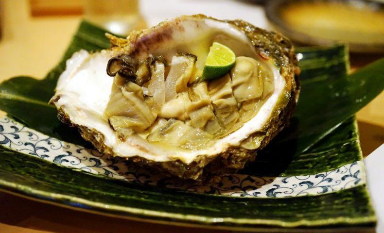 福山市松永『季節料理 光哉』岩牡蠣、のどぐろ、鱧、日本海と瀬戸内海の夏の味覚を堪能♪