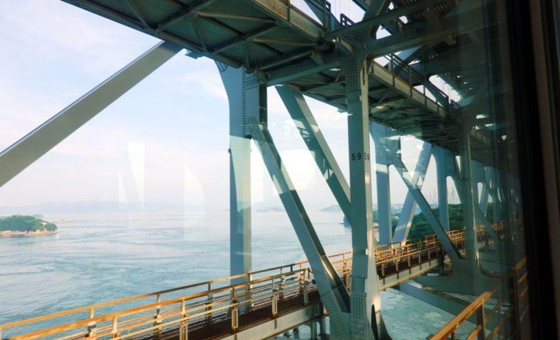 四国へ初めての電車旅。マリンライナー指定席で岡山から高松まで、瀬戸大橋からの絶景を楽しめます♪