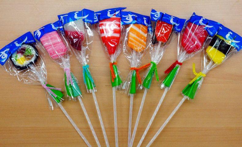 外国人旅行者へプレゼントしたい!『築地 魚がし北田』の「手作り 寿司キャンディー」が可愛過ぎる!