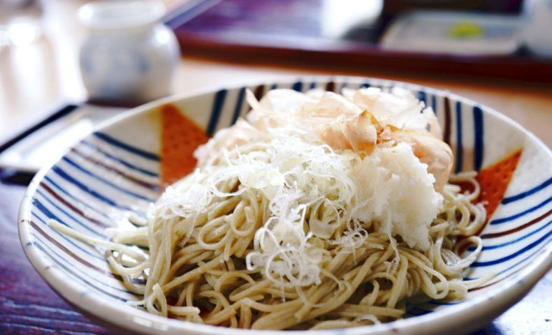 尾道市因島中庄町『蕎麦はな』コシが強くて喉越しなめらか、大好きなお蕎麦屋さん♪