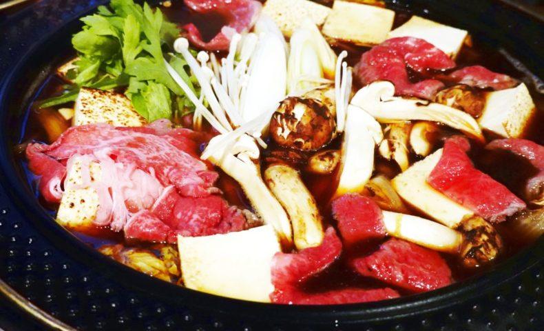 尾道鍋研究会☆2018年10月例会「松茸すき焼き」3種の鍋で松茸を楽しむ趣向に、一同うっとり♪