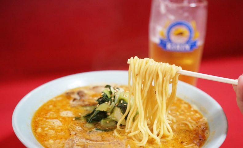 尾道市高須町『萬來軒』、定期的に無性に食べたくなる濃い~ぃ尾道ラーメン&ゴマがきいた担々麺!