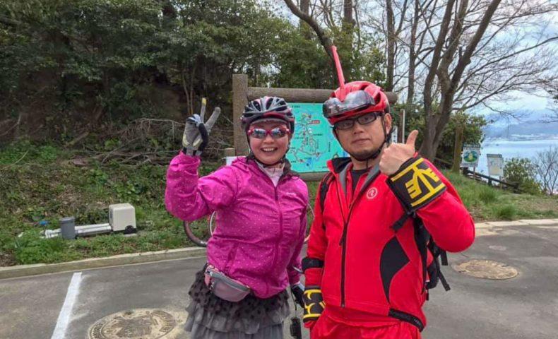 天女の羽衣と呼ばれる三千本桜目指して、ゆめしま海道の離島 岩城島 積善山ヒルクライム!