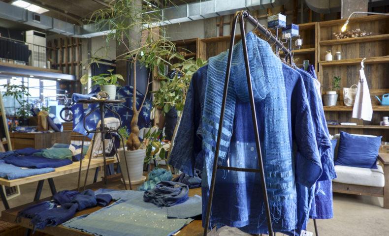 しまなみ海道の自然美が染まった「海色空色工房 梅阪尚美ー染色展ー@U2」