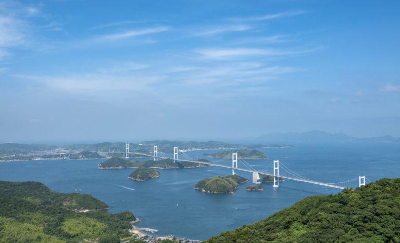 しまなみ海道 愛媛県今治市 大島の絶景スポット『亀老山展望公園』!