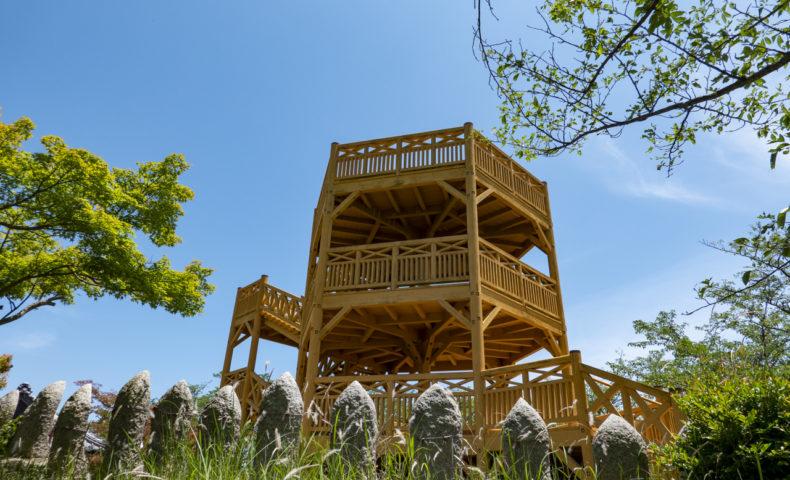 しまなみ海道 愛媛県今治市 伯方島『開山公園』、多々羅大橋を目の前にのぞむ絶景展望台♪