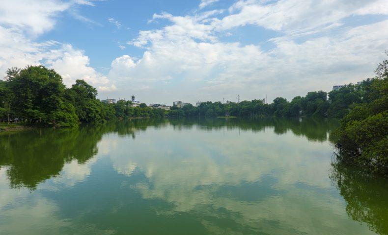 【2019ハノイ-4】視察の合間に、ホアンキエム湖「伝説の亀」と旧市街をプチ観光!